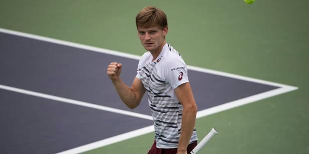 ATP Shanghaï : David Goffin sort Gaël Monfils en trois sets ! - La Libre