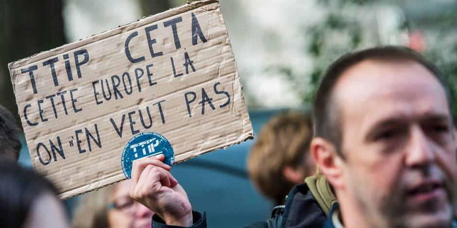 Edito: des irréductibles vont empêcher un continent de signer le Ceta - La Libre