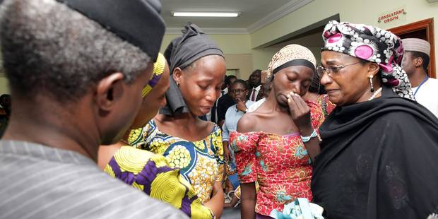 Nigeria: 21 lycéennes de Chibok libérées par Boko Haram - La Libre