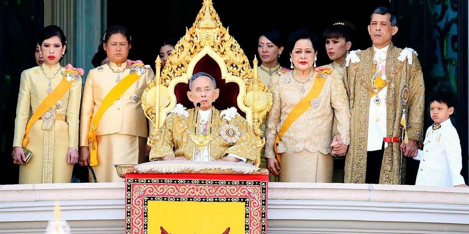 King Bhumibol has died
