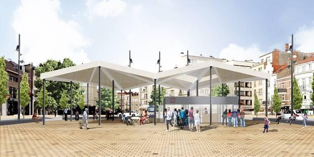 Consensus sur la place Dumon à Woluwe-Saint-Pierre - La Libre