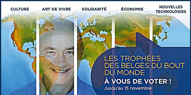 Les candidats aux Trophées des Belges du bout du monde - La Libre