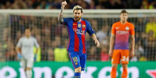 Le Barça et Messi donnent une leçon à Man City et Guardiola (4-0) - La Libre