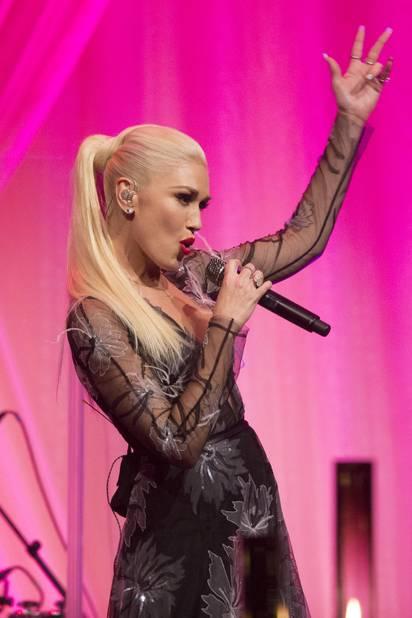 Gwen Stefani a chanté lors de ce dernier dîner