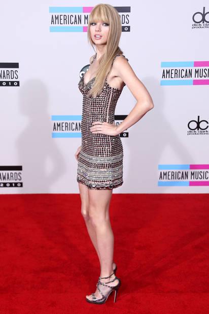 Cocotte sexy (pas du meilleur goût) en novembre 2012, American Music Awards
