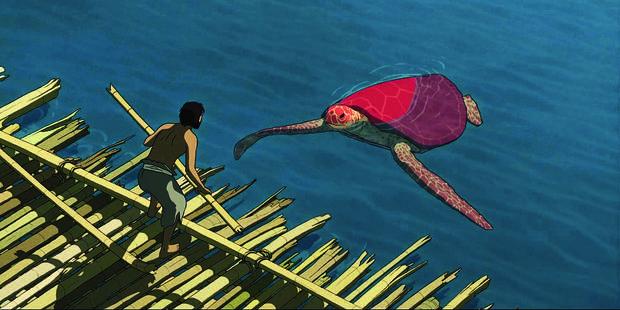"""Le film d'animation """"La tortue rouge"""", coproduction belge, nominé aux European Film Awards - La Libre"""