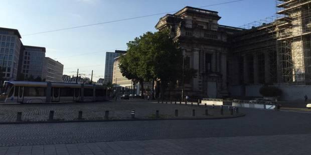 Fin de l'alerte à la bombe au Palais de Justice de Bruxelles - La Libre