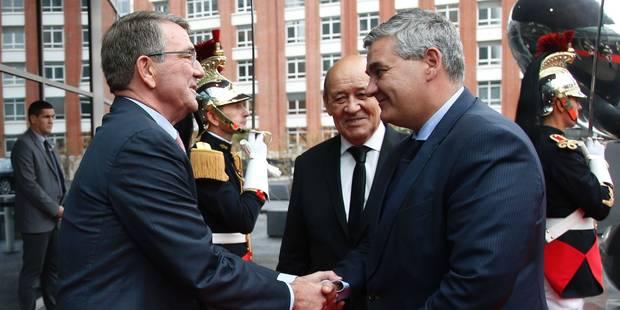 """La Belgique fait son entrée dans le """"noyau dur"""" de la coalition anti-EI - La Libre"""