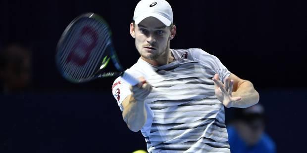 ATP de Bâle: David Goffin qualifié pour le deuxième tour - La Libre