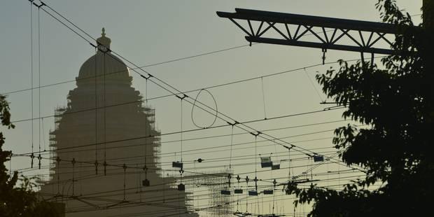 Les échaffaudages du palais de justice seront retirés en 2028 - La Libre