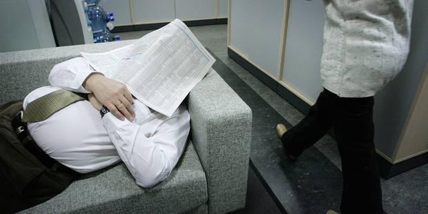 Une loi pour encourager la sieste au travail? - La Libre