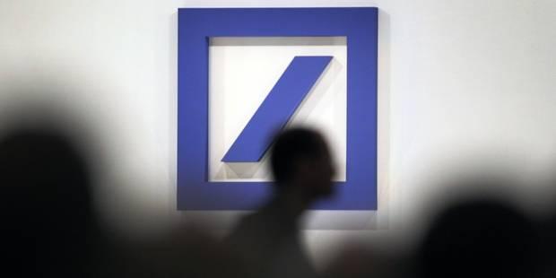 Deutsche Bank fait mieux que prévu - La Libre