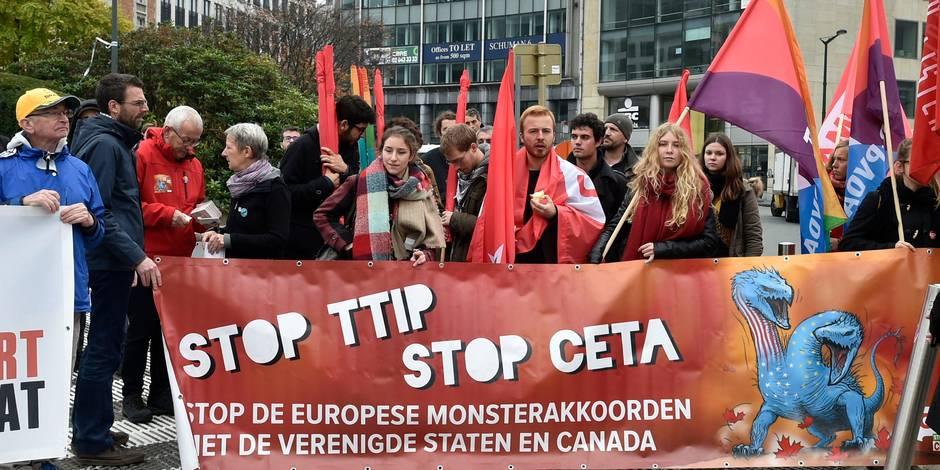 La Belgique place une bombe sous le siège du CETA