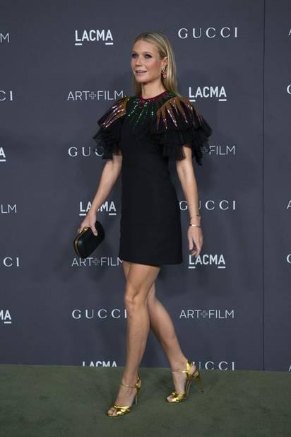 Gwyneth Paltrow, qui ne rate jamais une occasion de montrer ses belles jambes