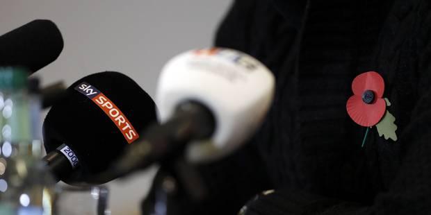 Coquelicot sur les maillots: Angleterre et Ecosse pourraient faire face à des sanctions - La Libre