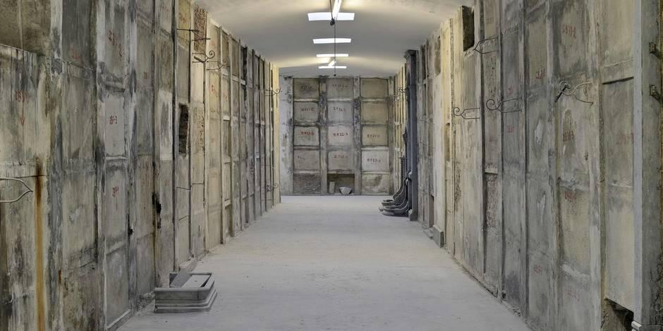Laeken: 1 km de catacombes, uniques en Europe du Nord - La Libre