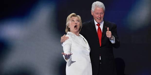 Comment appeler Bill Clinton si sa femme devient présidente? - La Libre