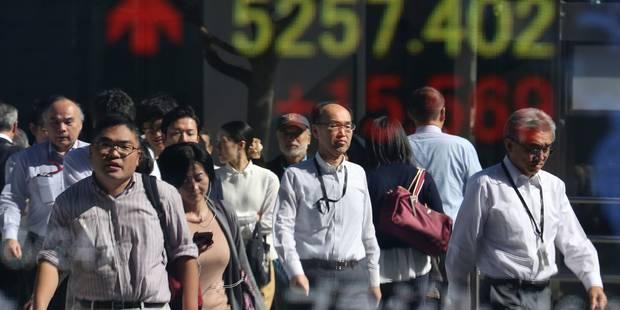 Rebond des marchés en Asie après une annonce du FBI favorable à Clinton - La Libre