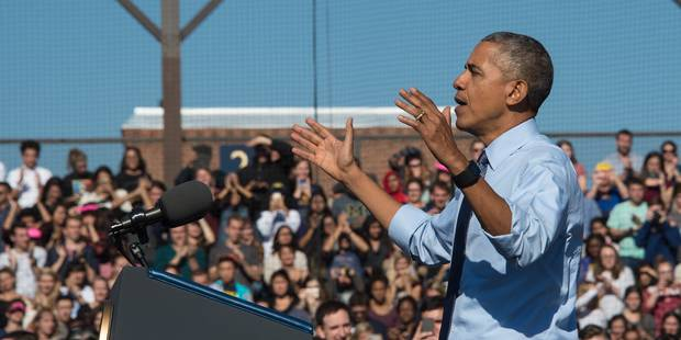 """Obama: """"Faites pour Hillary ce que vous avez fait pour moi"""" - La Libre"""
