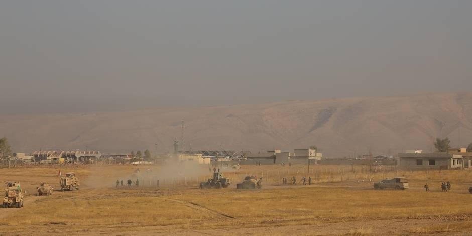 Irak: 100 corps décapités découverts dans une fosse commune près de Mossoul