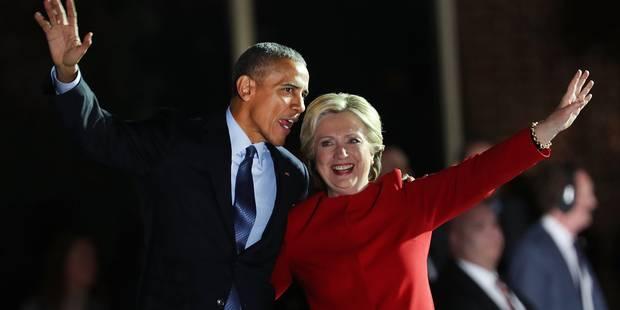 "Barack Obama à Philadelphie lundi soir: ""Yes, We Did!"" - La Libre"