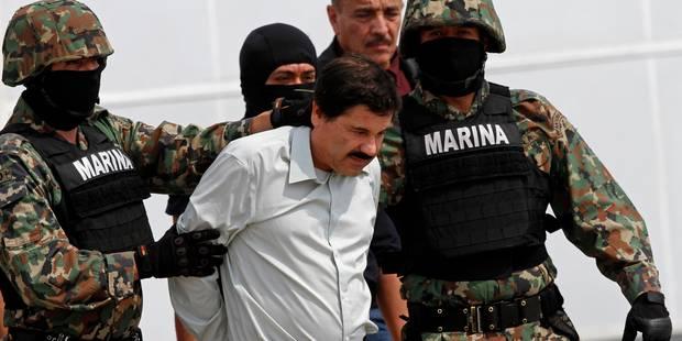 """Mexique: """"El Chapo"""" fait appel de son extradition vers les Etats-Unis - La Libre"""
