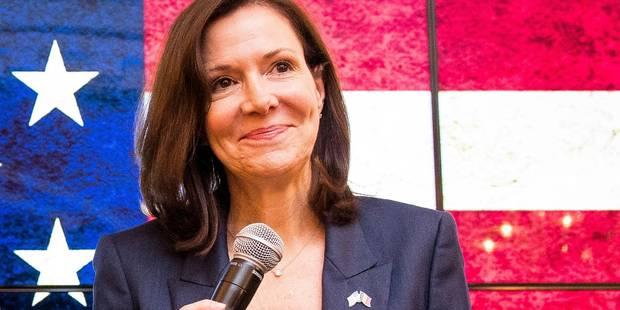 """L'ambassadrice américaine en Belgique réagit: """"Quel que soit le résultat, notre partenariat se poursuivra"""" - La Libre"""