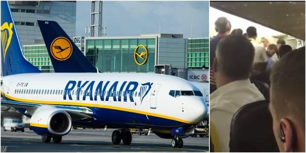 Bagarre à bord d'un vol Ryanair: l'agresseur, qui vit en Belgique, était recherché par la Roumanie - La Libre