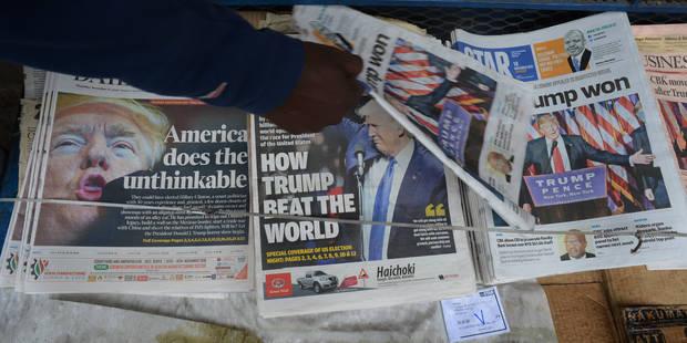L'élection de Trump: Une nuée de sauterelles - La Libre