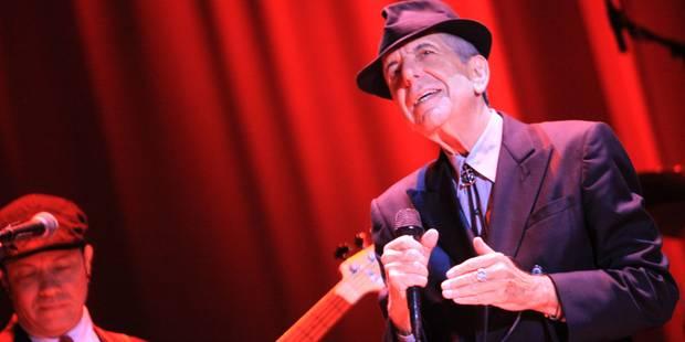 Le poète, écrivain et auteur-compositeur canadien Leonard Cohen est décédé (PHOTOS + VIDEOS) - La Libre