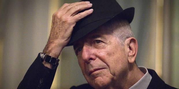 """""""Tu nous manqueras"""": toutes les réactions suite au décès de Leonard Cohen - La Libre"""