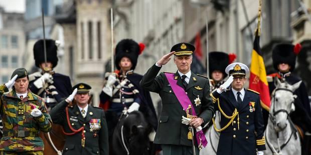 Le roi Philippe rend hommage aux victimes des deux guerres mondiales à Bruxelles (PHOTOS) - La Libre