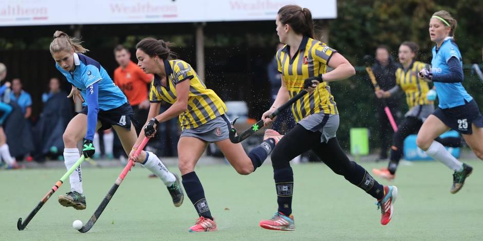 Hockey championnat Dames: Le Wellington bat le champion - La Libre