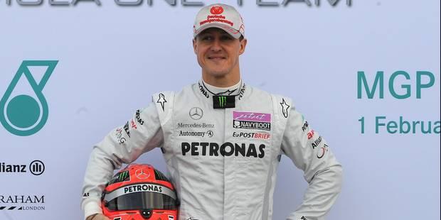 Michael Schumacher revient... sur Instagram - La Libre