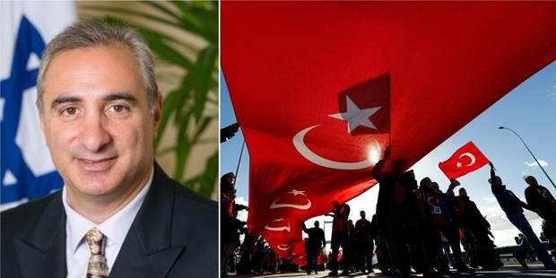 Israël nomme un ambassadeur en Turquie après six ans de brouille - La Libre