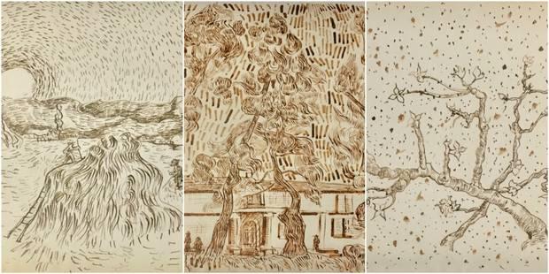 Le ?choc? de 65 dessins inédits de Van Gogh - La Libre