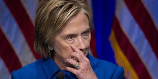 """Déchue, Hillary Clinton ne voulait """"plus jamais quitter"""" son domicile - La Libre"""