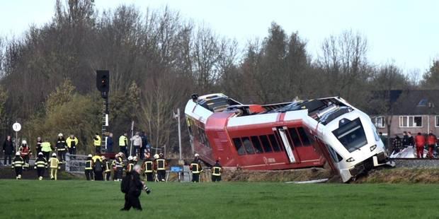 Une collision entre un train et un camion fait plusieurs blessés aux Pays-Bas - La Libre