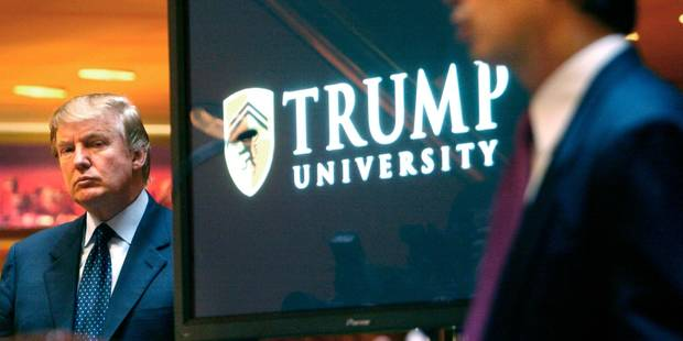 Trump va verser 25 millions de dollars pour mettre fin à un litige sur son université - La Libre