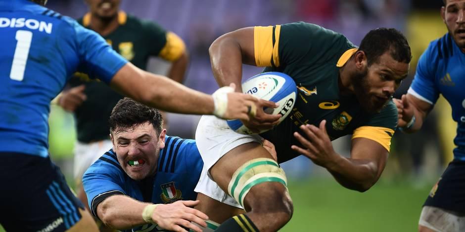 Rugby: une première pour l'Italie, l'Angleterre facile