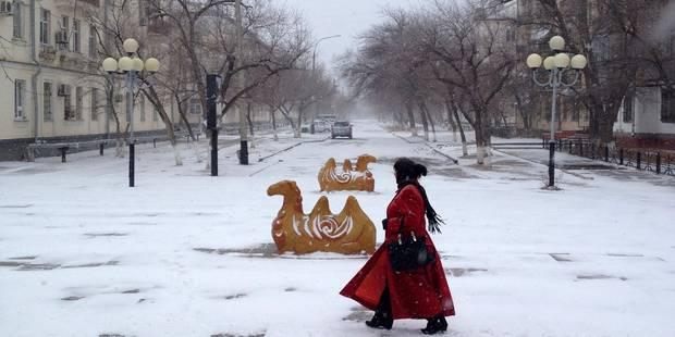 Au Kazakhstan, les températures sont... 30 degrés en-dessous des normales saisonnières - La Libre
