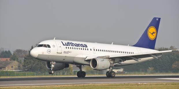 Grève des pilotes: Lufthansa annule près de 900 vols mercredi - La Libre