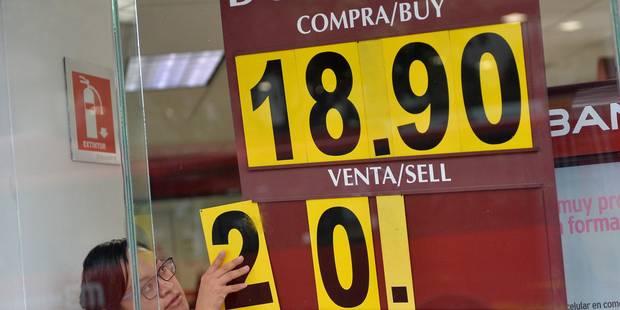 Mexique: la Banque centrale révise la croissance à la baisse après Trump - La Libre