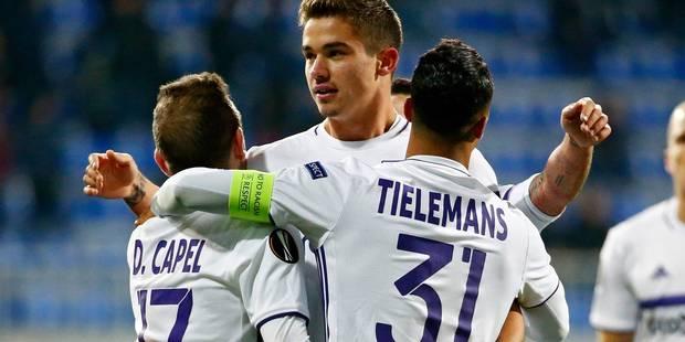 Anderlecht gagne sans convaincre à Qabala (1-3) mais se qualifie - La Libre