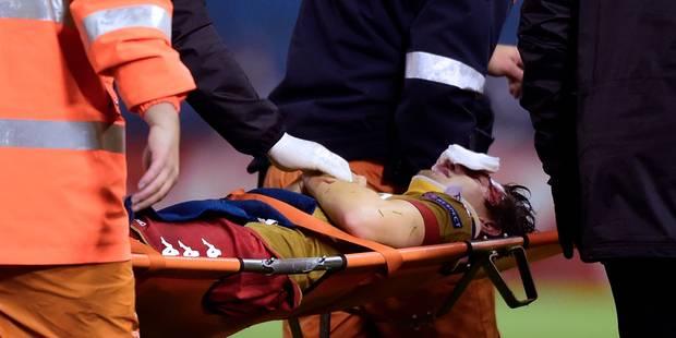 Après son violent choc avec le gardien, le joueur du Standard Benito Raman rassure sur Twitter (PHOTO + VIDEO) - La Libr...