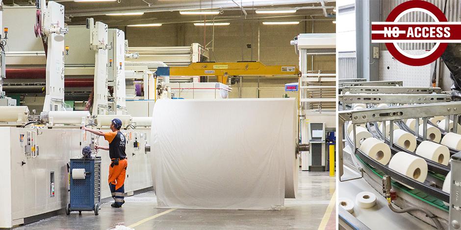 En fin de fabrication, votre papier toilette mesure encore... trois mètres - La Libre