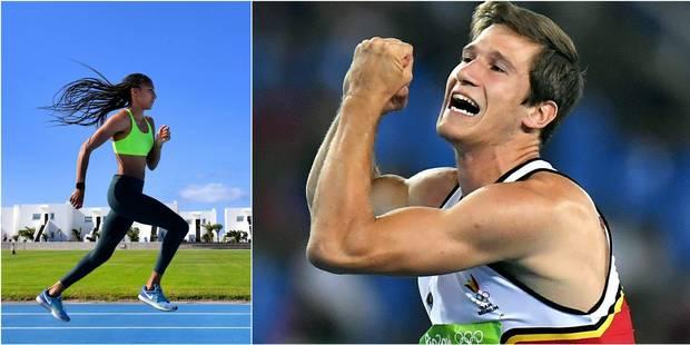 Spike d'or: Nafissatou Thiam et Thomas Van Der Plaetsen élus athlètes belges de l'année - La Libre