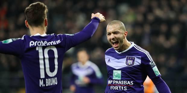 Anderlecht atomise Mouscron et éjecte le Standard du top 6 (7-0) - La Libre
