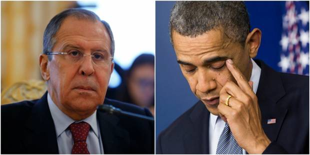 """Lavrov: """"Obama a délibérément détruit les relations entre la Russie et les Etats-Unis"""" - La Libre"""