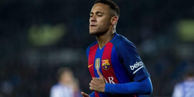 Neymar arbore le maillot de Chapecoense avant le clasico - La Libre